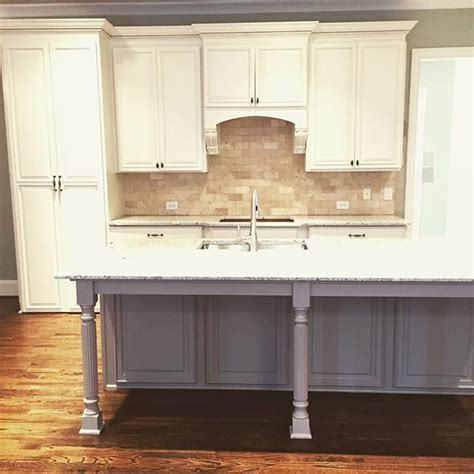 greige kitchen cabinets sherwin williams shoji white painted caibnets with mega