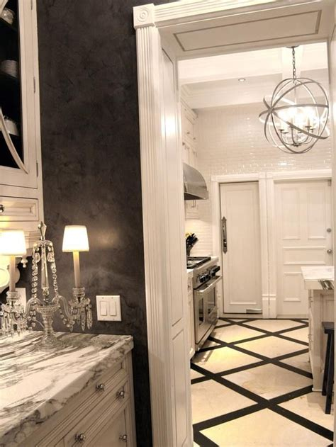 Black Marble Kitchen Floor Tiles by 31 Black And White Marble Bathroom Tiles Ideas And Pictures