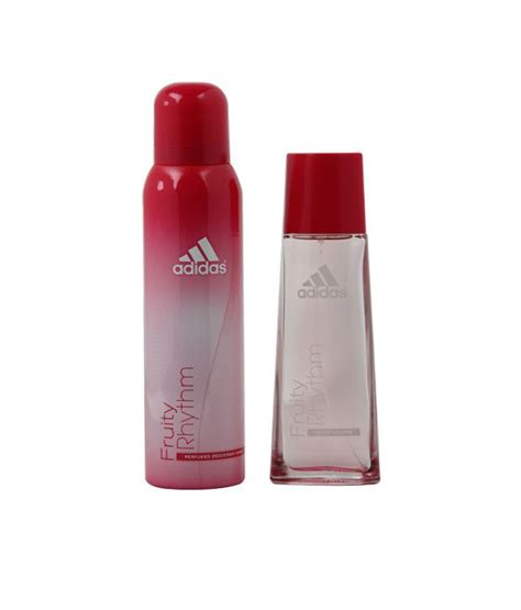Parfum Adidas Fruity Rhythm adidas fruity rhythm gift set for buy at best prices in india snapdeal