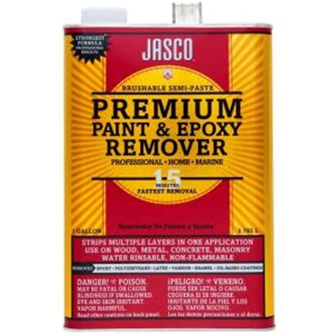 home depot jasco paint remover jasco 1 gal premium paint and epoxy remover gjbp00203