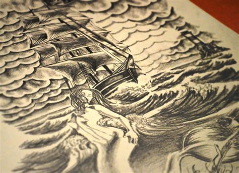 pirate ship sleeve tattoo designs creating a sleeve design design