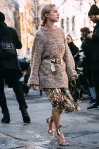 street style at paris fashion week fall 2017 photos