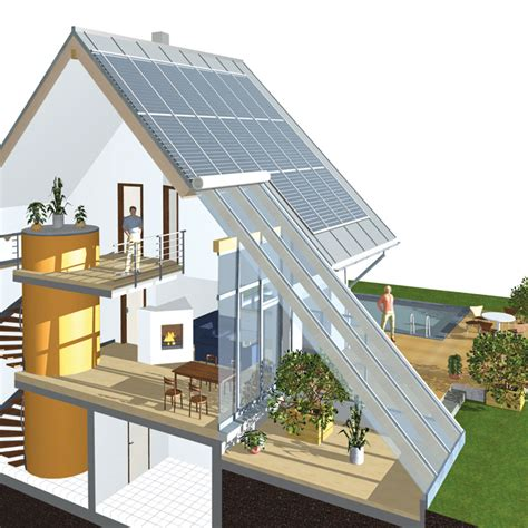 schiedel an energy self sufficient house