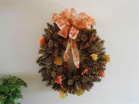 diy decorations using pine cones hometalk diy pine cone wreath using chicken wire