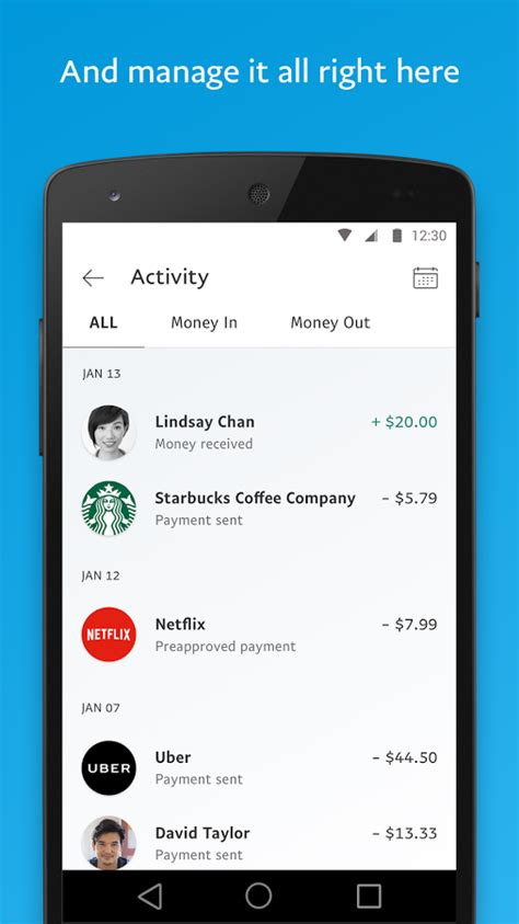 paypal android app paypal android apps on play