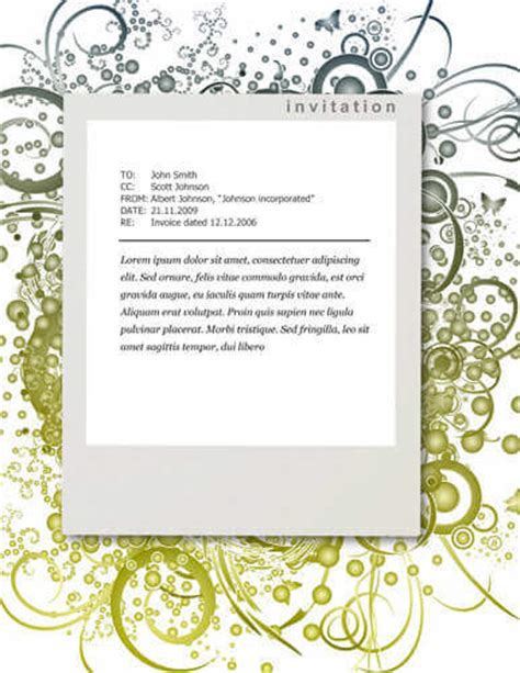 invitation free templates 26 free printable invitation templates in word