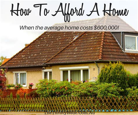 mortgage house australia how to afford a house when the average australian home
