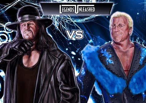 undertaker painting undertaker vs ric flair by bardsville on deviantart