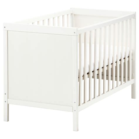 Baby Cot Ikea sundvik cot white 60x120 cm ikea