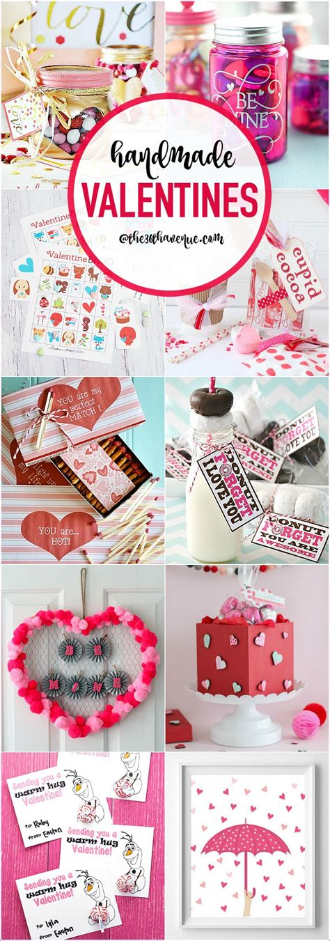 Valentines Handmade Gifts - handmade valentines diy gift ideas the 36th avenue