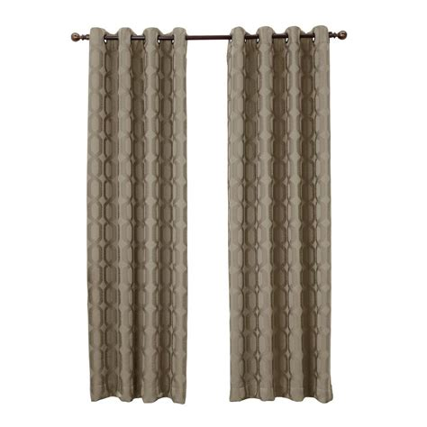 blackout curtains home depot sun zero sand harold blackout curtain panel 52 in w x 95