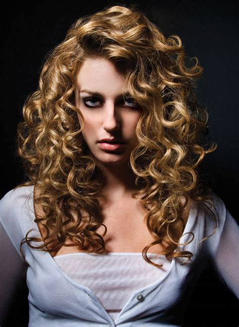 long hair perms loose curls retro stacked spiral perm hairstyles and other quirky ideas