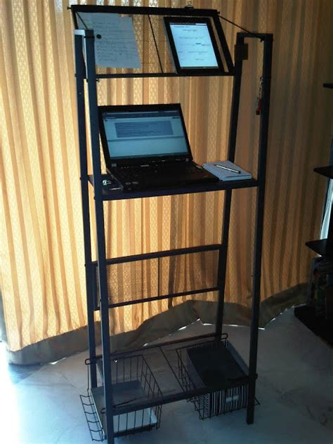 standing desk ikea lifehacker the best ikea standing desk hacks lifehacker australia