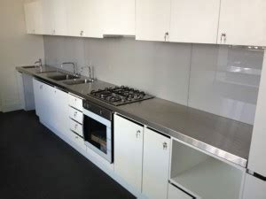 stainless bench top geelong stainless steel benchtops sinks surf coast