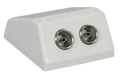 Socket Antena Tv Plastik new av link tv antenna surface wall mount coaxial