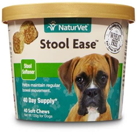 How To Soften Dogs Stool by Naturvet Stool Ease Stool Softener For Dogs 40 Ct Soft