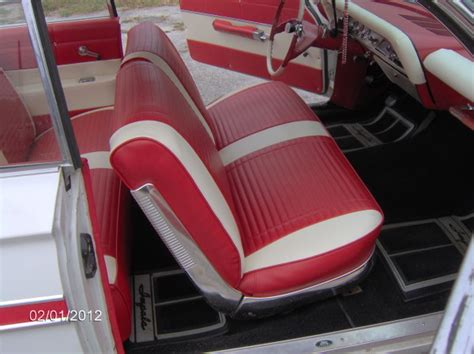 auto interiors and upholstery classic striped impala kelly s quality auto upholstery