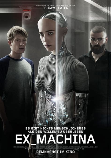 director of ex machina absolutely love this movie ex machina a young