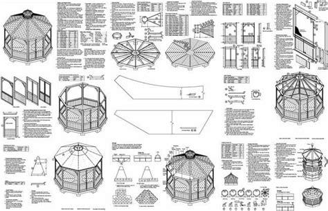 gazebo plans screened gazebo plans gazebo antique
