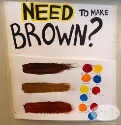 how to make the color brown with paint posion antidote december 2013