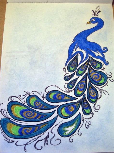 peacock drawing  drawing drawing  cut