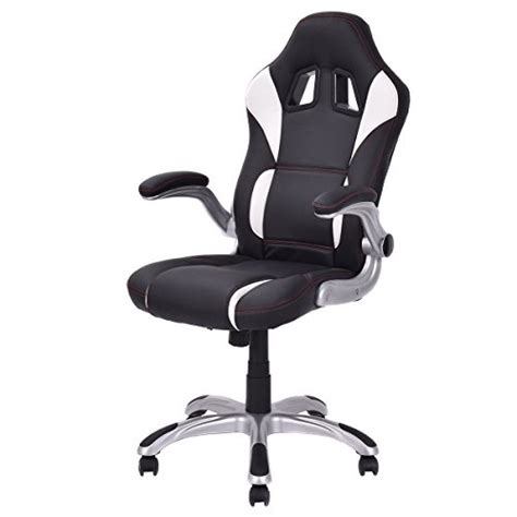 Racing Style Office Chair by Giantex High Back Executive Racing Style Office Chair
