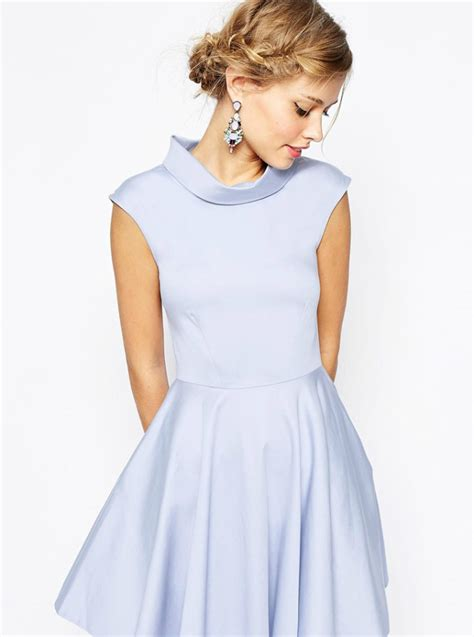 Light Blue Dress For Wedding Guest   Oasis amor Fashion