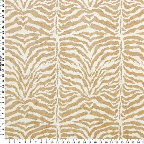 tiger upholstery fabric tiger stripes on cream fabric cooler ideas pinterest