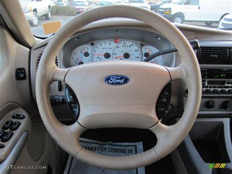 electric power steering 2001 ford explorer sport trac interior lighting 2001 ford explorer sport trac 4x4 medium prairie tan steering wheel photo 59636043 gtcarlot com
