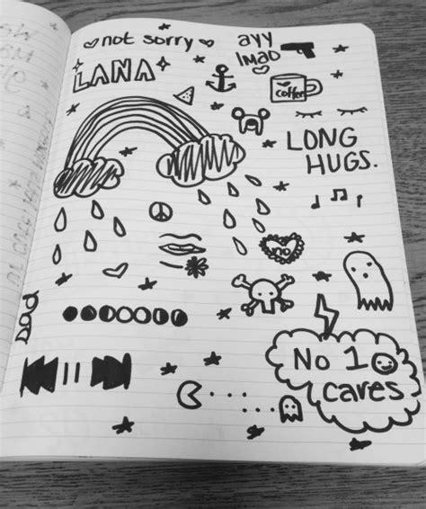 doodle 9 in 1 grunge doodles on