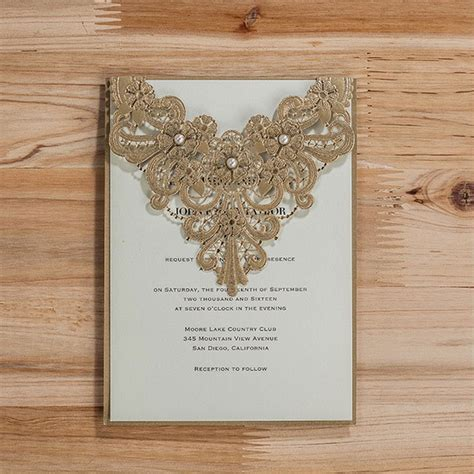 wedding invitations cards 2016 wedding invitation card 2016 luxury wedding invitations laser cut invitation card