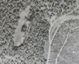 flat top manor house flat top manor aerial photo from 1940s of manor house and back garden north