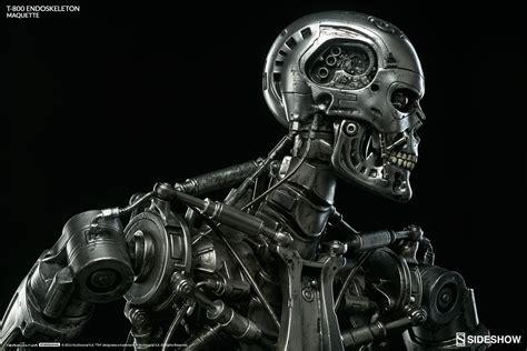 terminator t 800 endoskeleton 20 maquette statue