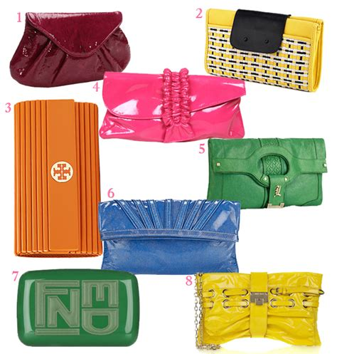 Cammie Hill Patent Leather Cinch Clutch by Pop The Clutch Hauteness The Handbag Magazine