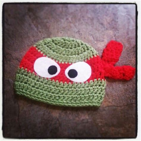 pattern for ninja turtle hat 1000 images about crochet hats tmnt on pinterest
