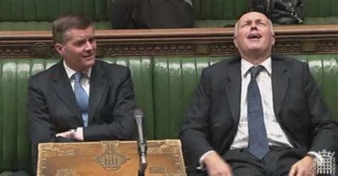 iain duncan smith bedroom tax watch iain duncan smith laugh during bedroom tax debate