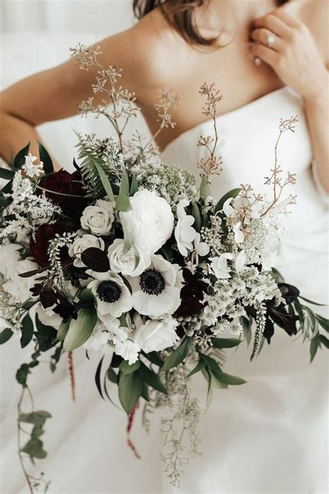 green black  white wedding ideas  fall