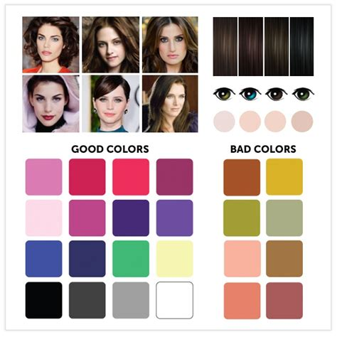 hair color for winter complexion 12 great color combinations for your complexion