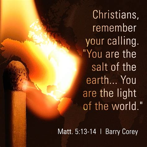 you are the light of the sermon christians remember your calling quot you are the salt of