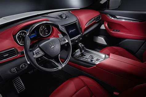 Maserati Inside 2017 Maserati Levante Drive Review