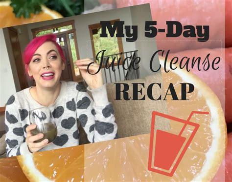 5 Day Juice Detox Review by My 5 Day Juice Cleanse Recap Vegan Review Vegan