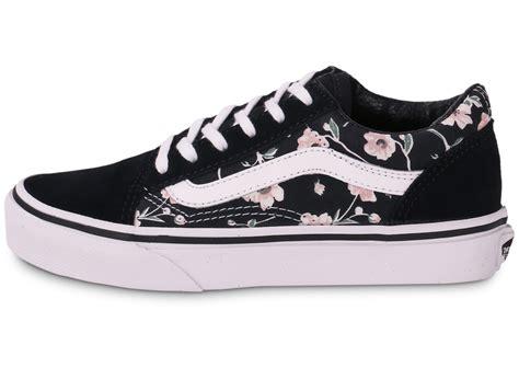 Vans Skool Aloha Flower Motif vans skool enfant vintage floral chaussures
