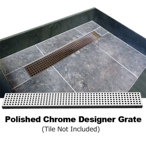 Shower Trench Drain by Redi Trench Shower Pan And Bench 42 X 60 Right Linear