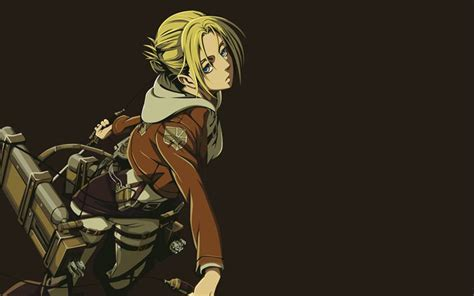 wallpapers annie leonhart minimal attack