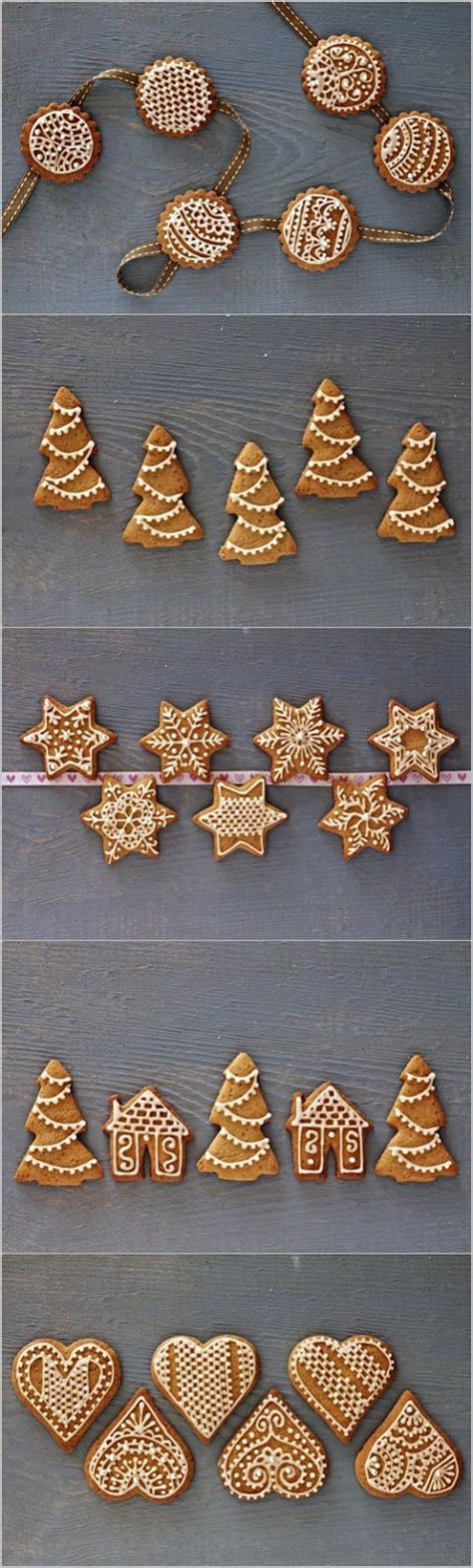 Decorated Gingerbread by Festive Decorated Gingerbread Cookies Mydiversekitchen