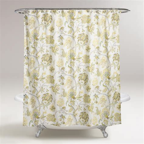 world market shower curtains gwendolyn shower curtain world market