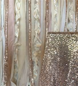 sequin curtain sequin wedding garland pink blush ivory white fabric party