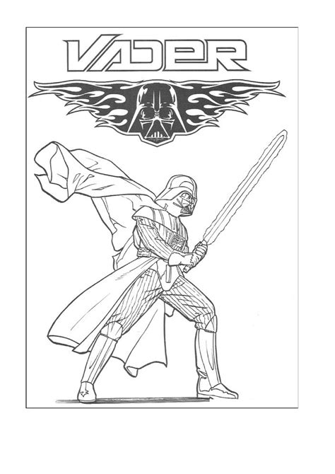 printable coloring pages darth vader wars coloring pages free printable wars