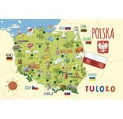Mapa Polski Dla Dzieci  Galleryhipcom The Hippest Galleries