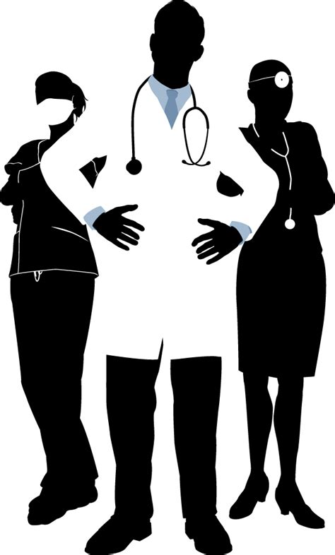 Clipart doctor black and white, Clipart doctor black and